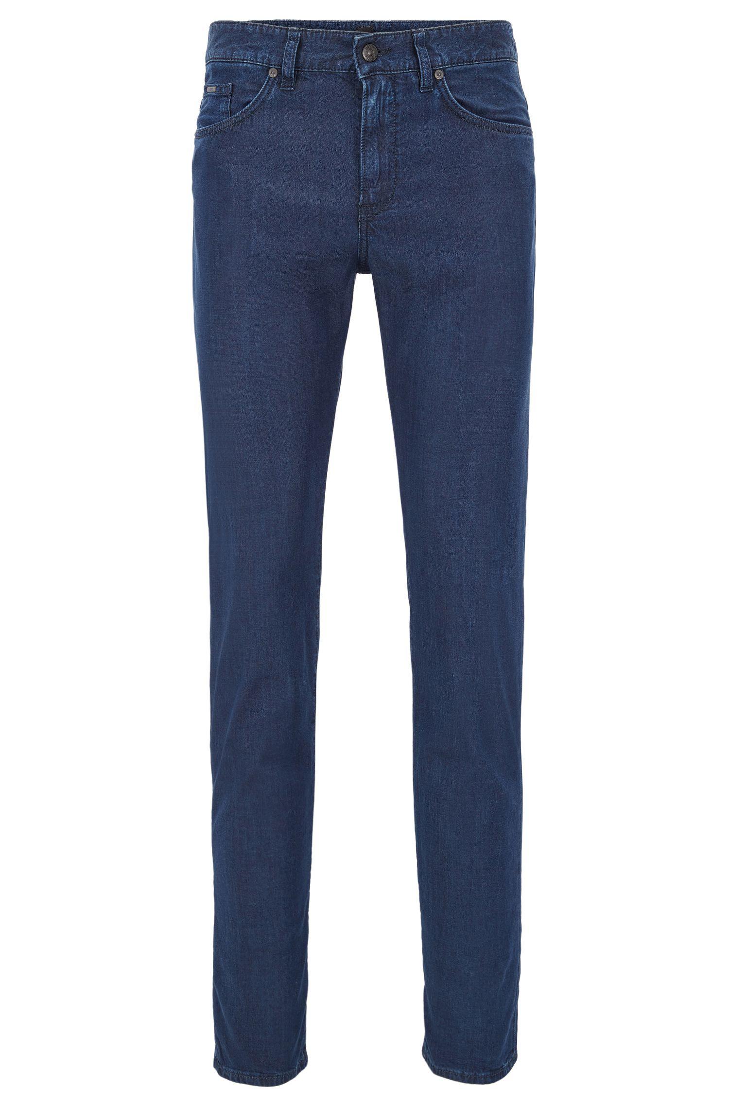 Slim-Fit Jeans aus leichtem Stretch-Denim