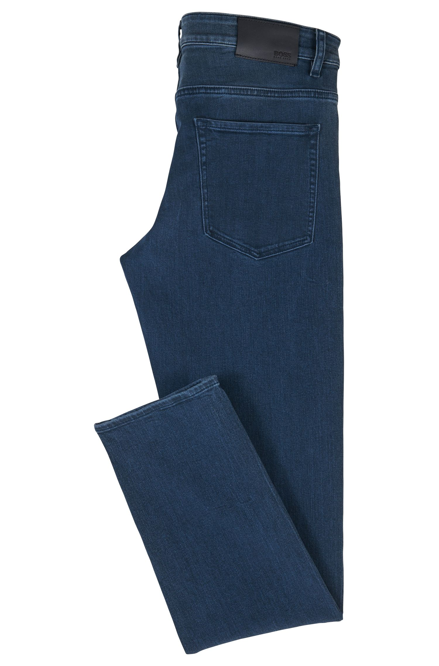 Slim-fit jeans van Italiaans stretchdenim