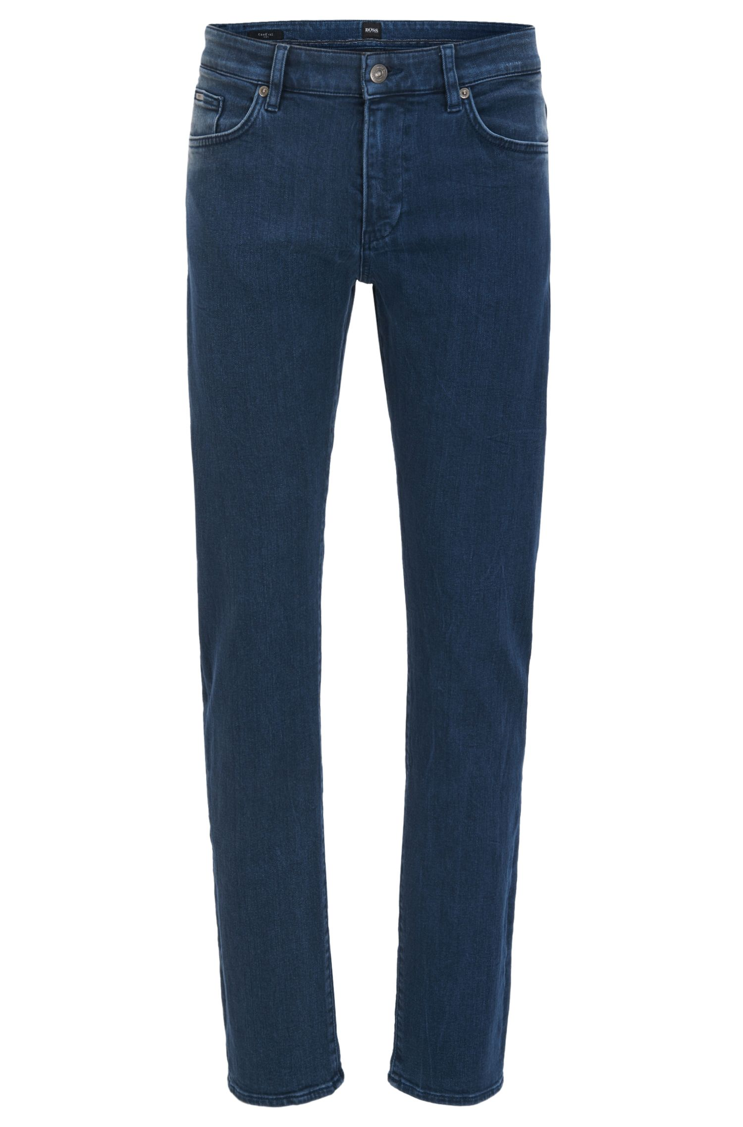 Slim-fit jeans in Italian stretch denim