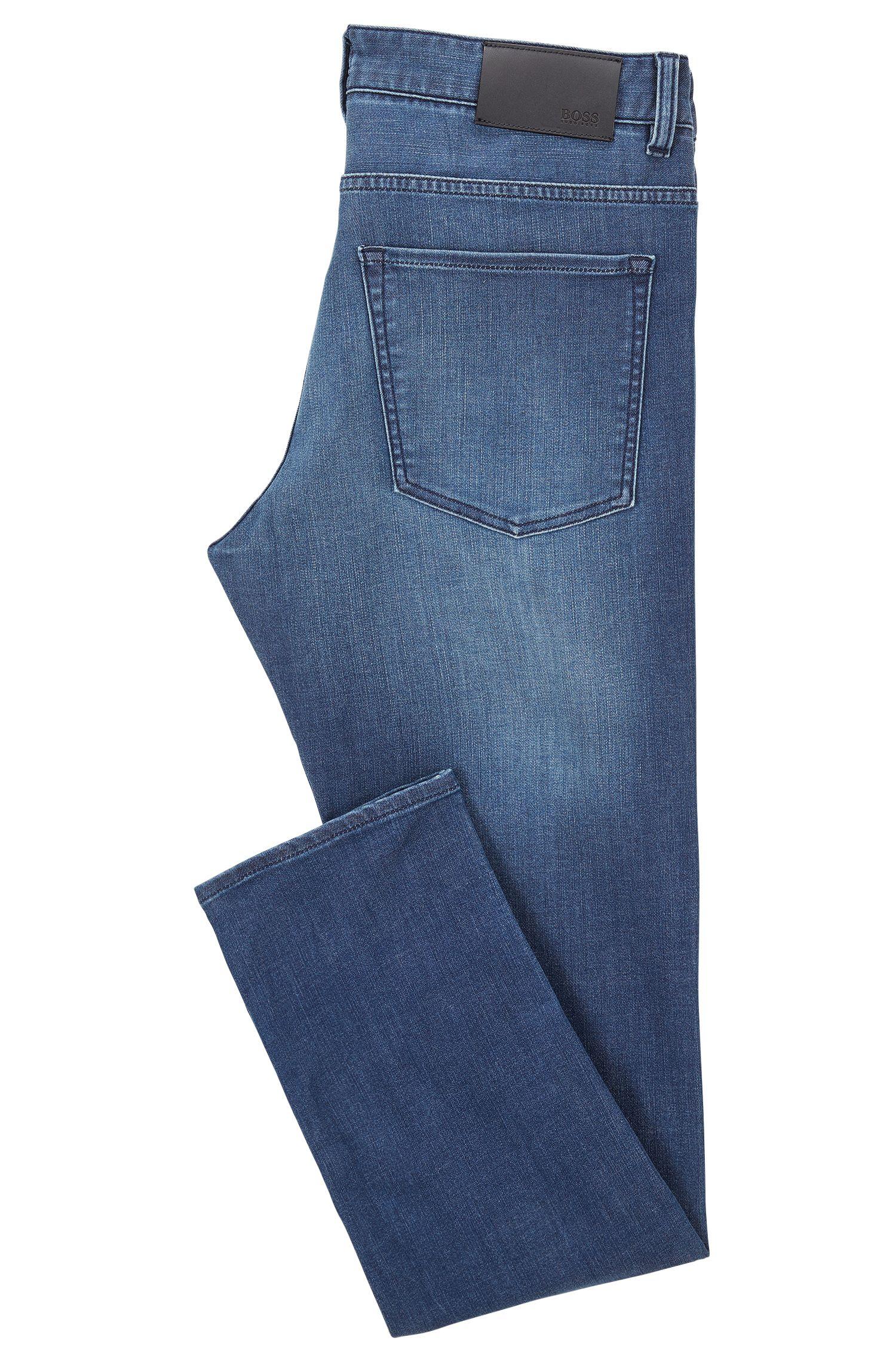 Jean Slim Fit en denim stretch bleu moyen