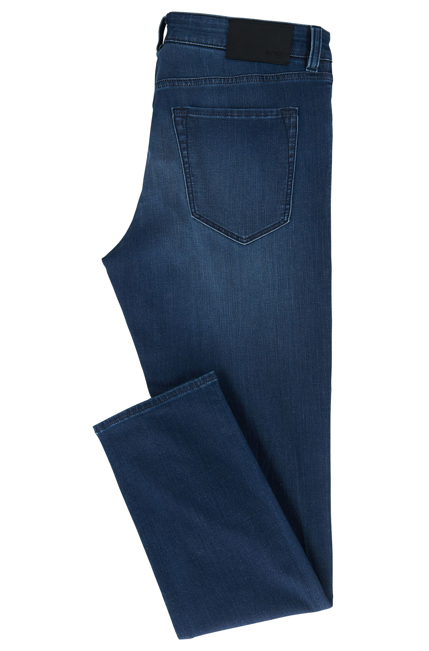 Jean Regular Fit en denim stretch bleu moyen