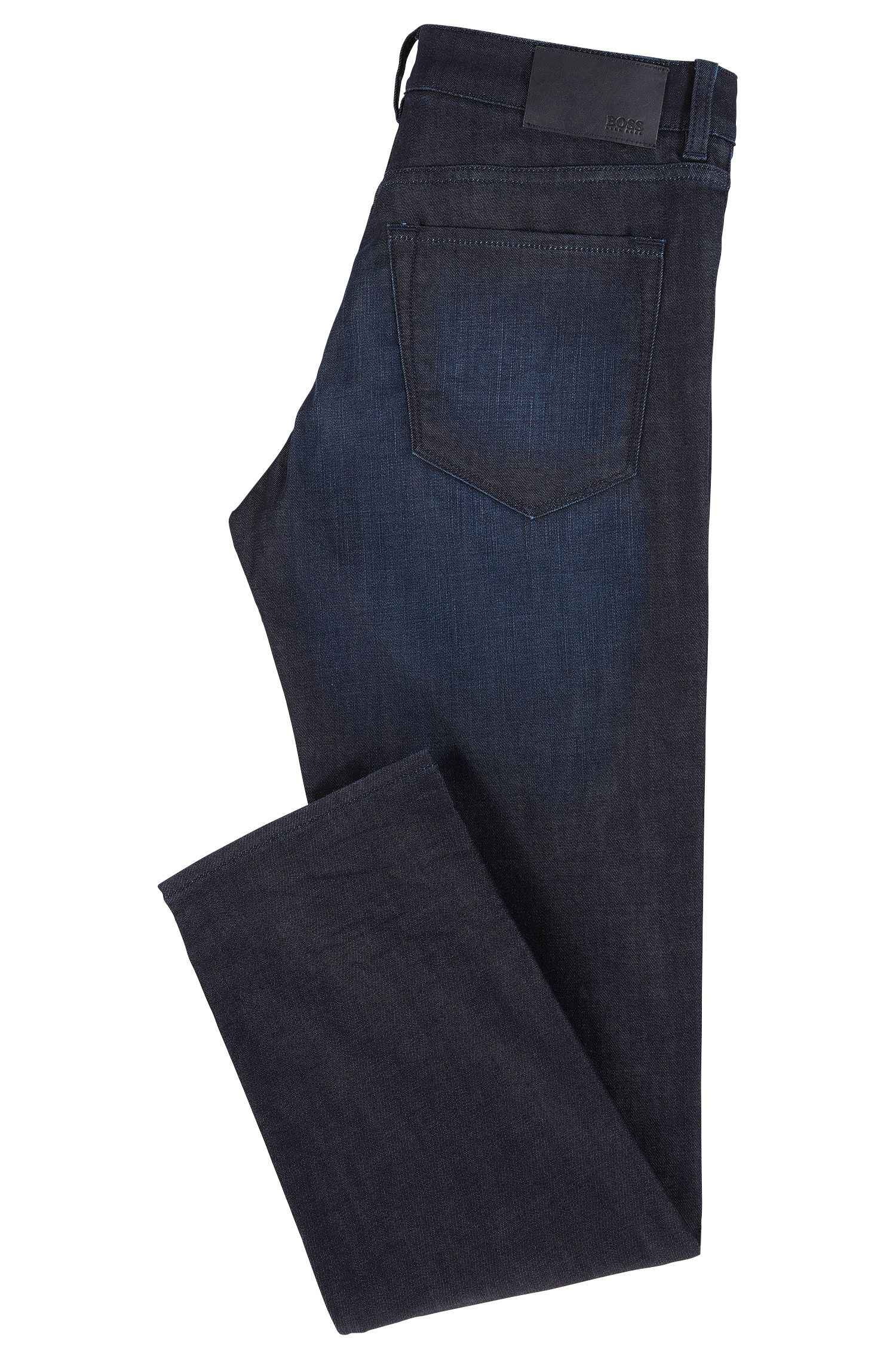 Regular-Fit Jeans aus elastischem Baumwoll-Mix