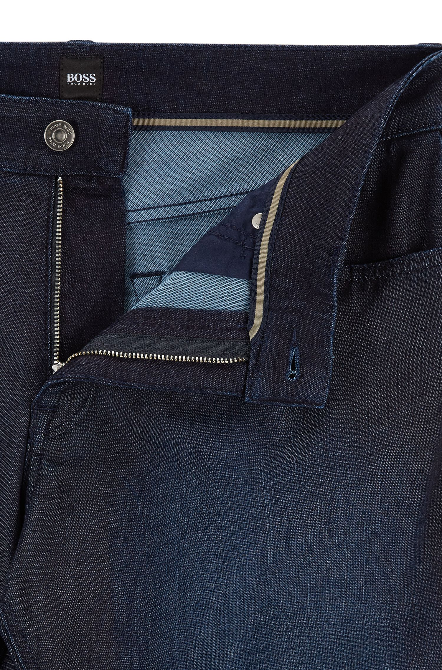 Regular-fit jeans van comfortabel stretchdenim