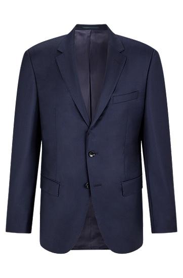 男士商务休闲西装外套,  410_海军蓝色