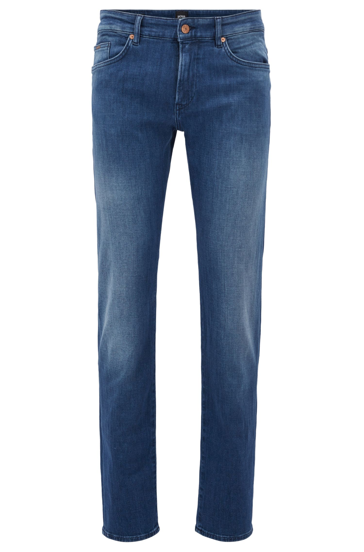 Jean Slim Fit en denim stretch au toucher cachemire
