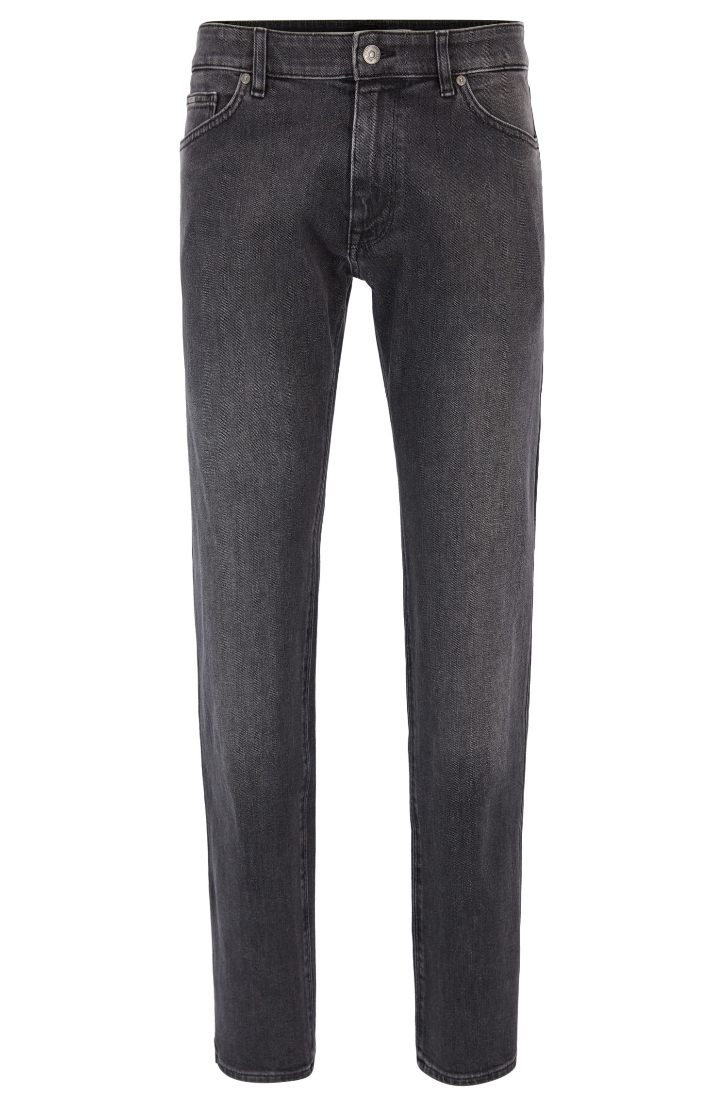 Regular-fit jeans van comfortabel stretchdenim