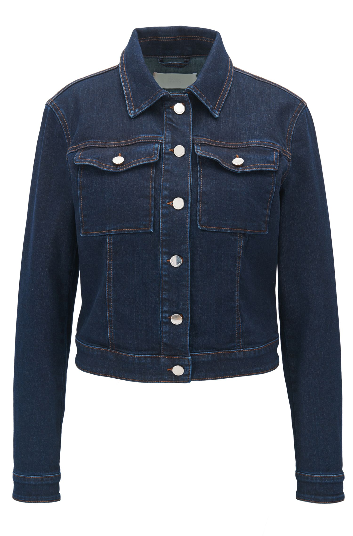 Denimjas van comfortabel stretchdenim