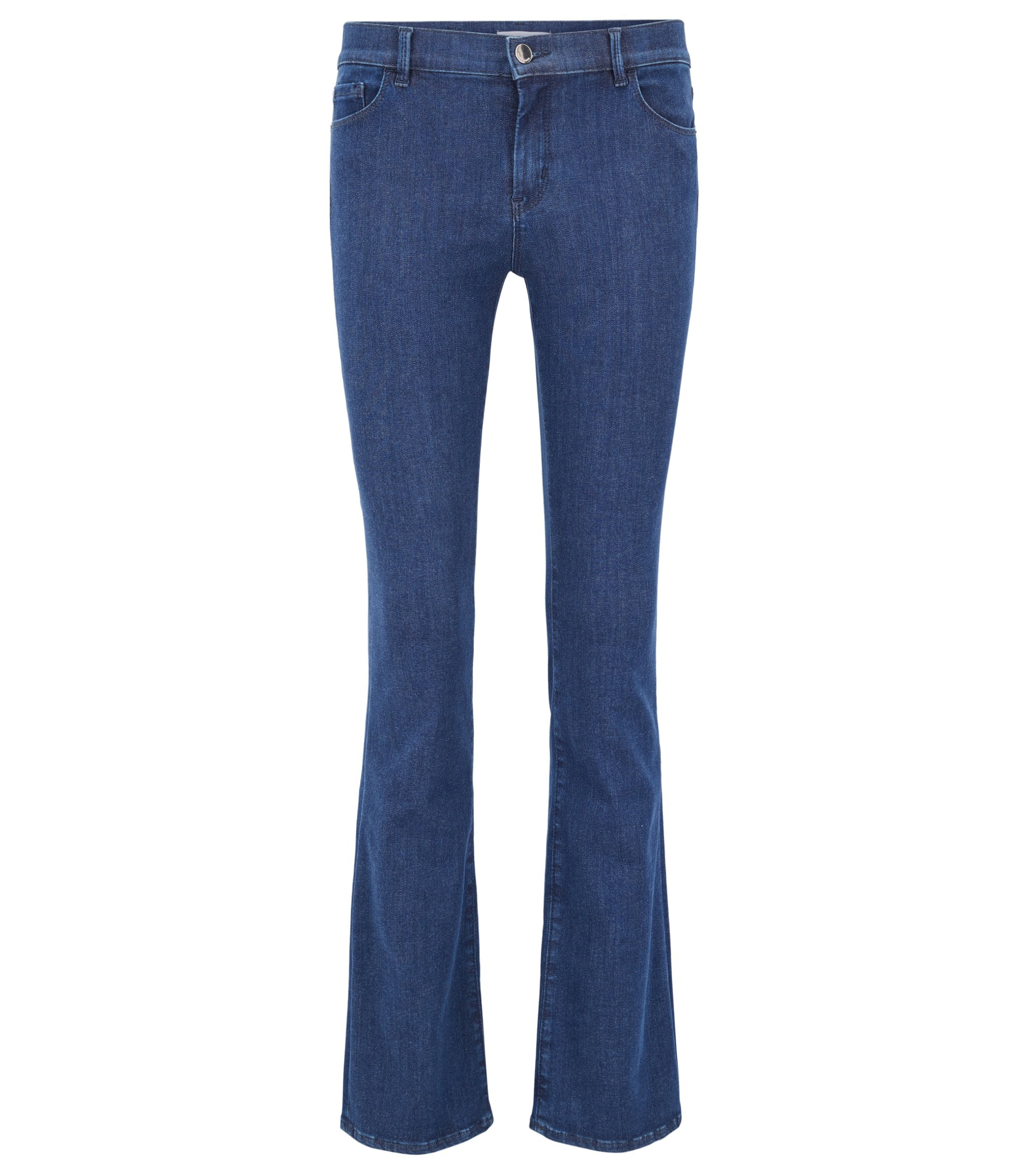 Jean Slim Fit en denim super stretch, Bleu