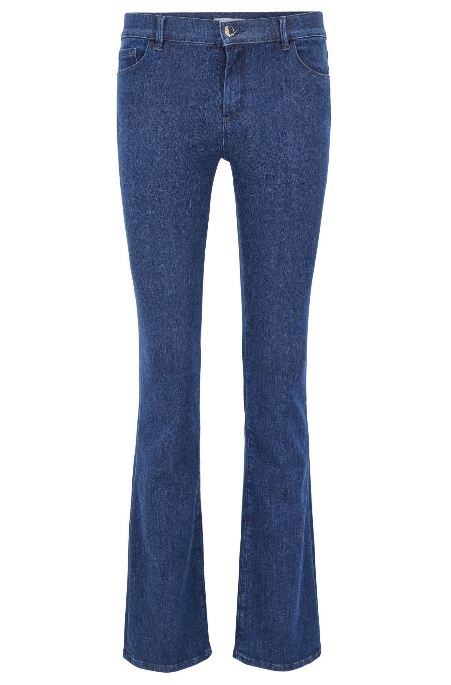 Slim-fit jeans in super-stretch denim