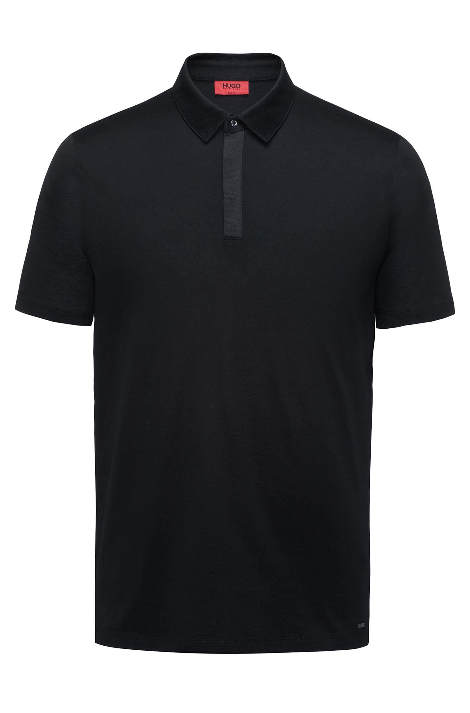 Slim-Fit Poloshirt aus Baumwolle