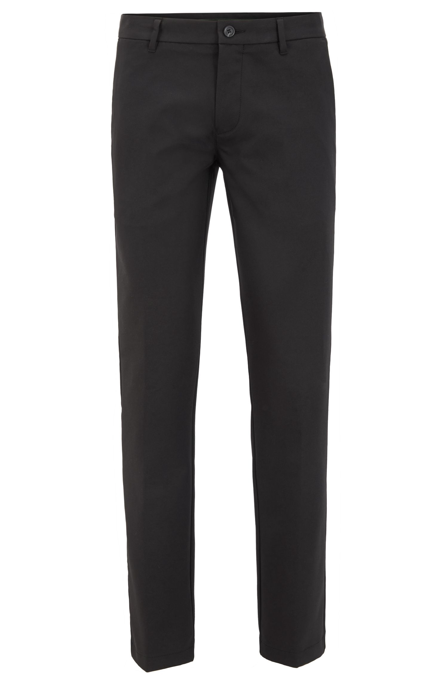 Extra-slim-fit trousers in technical fabric