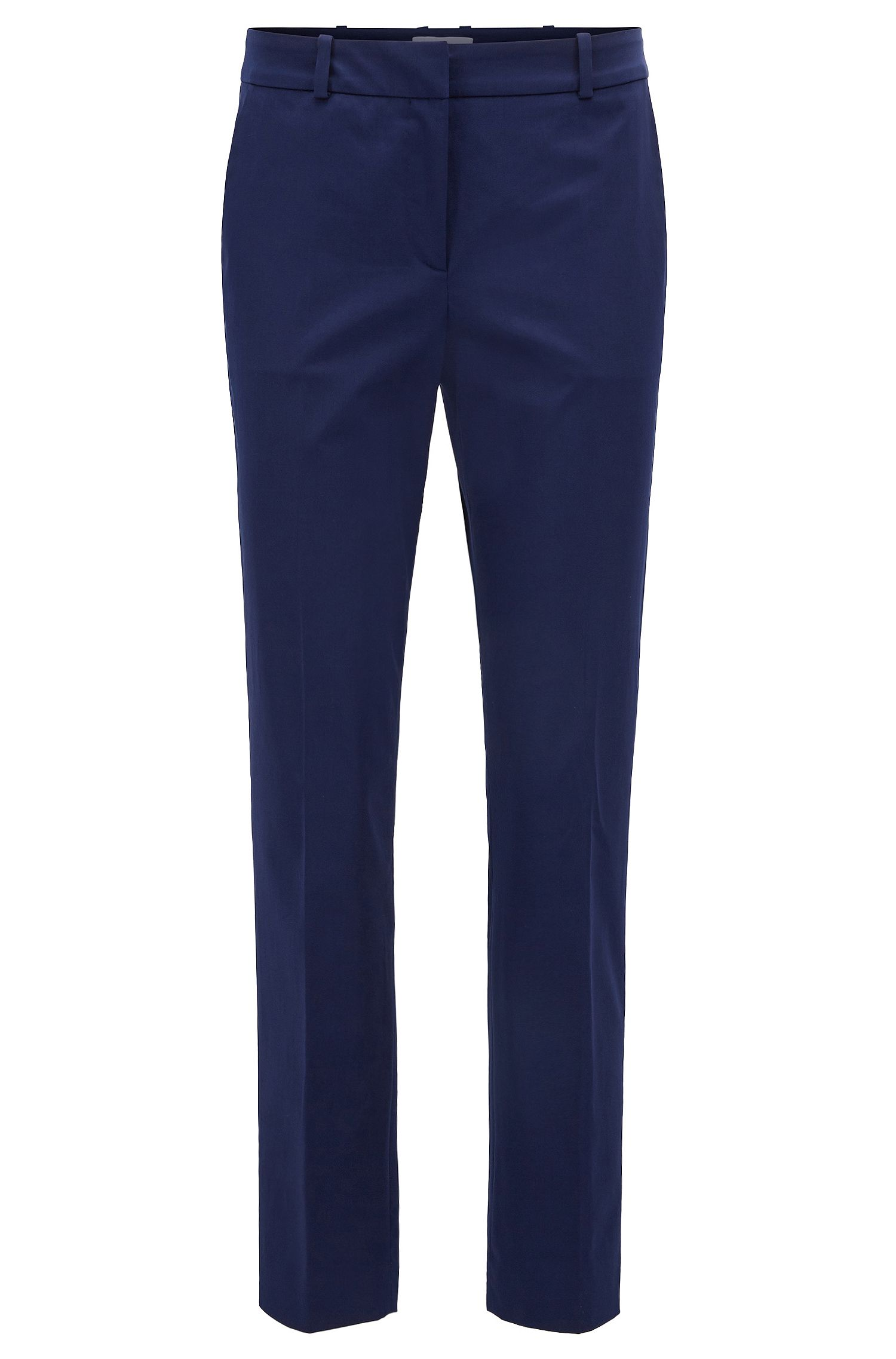 Relaxed-Fit Hose in Cropped-Länge aus Stretch-Baumwolle