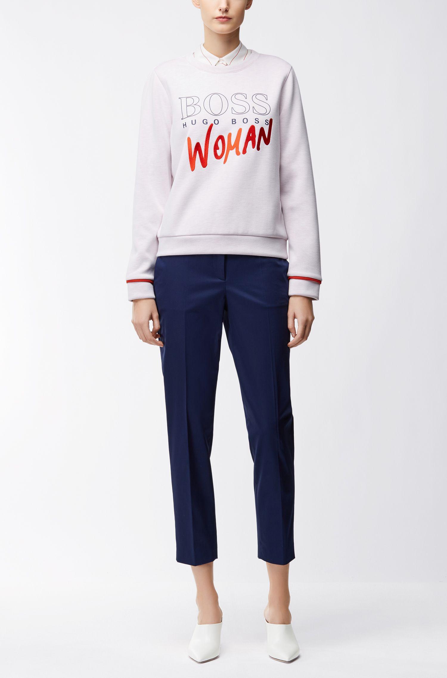 Pullover aus elastischem Neopren mit Logo