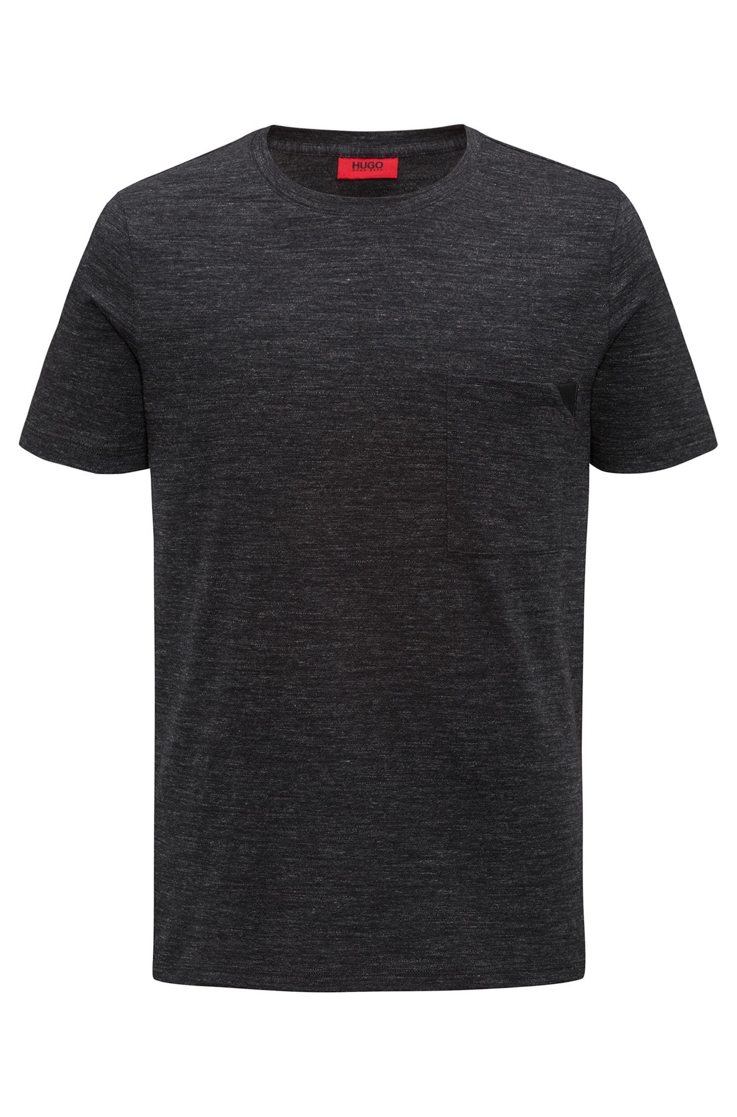 T-shirt a maniche corte in cotone mélange