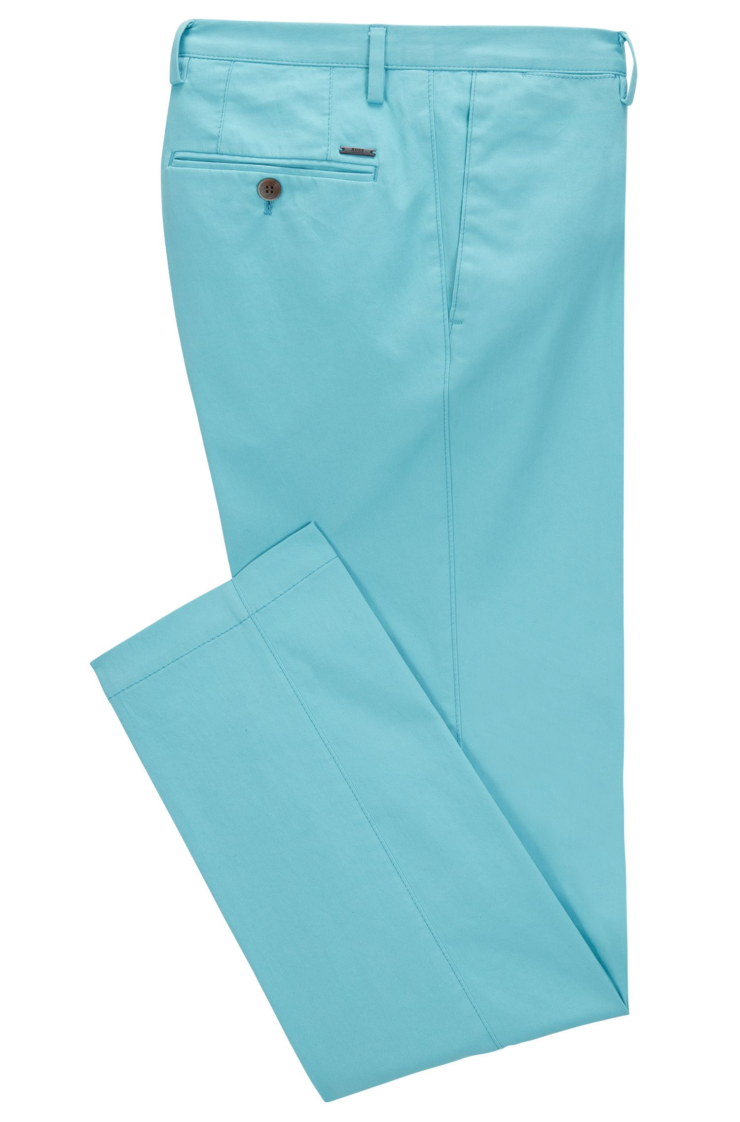 Slim-fit chinos in stretch cotton