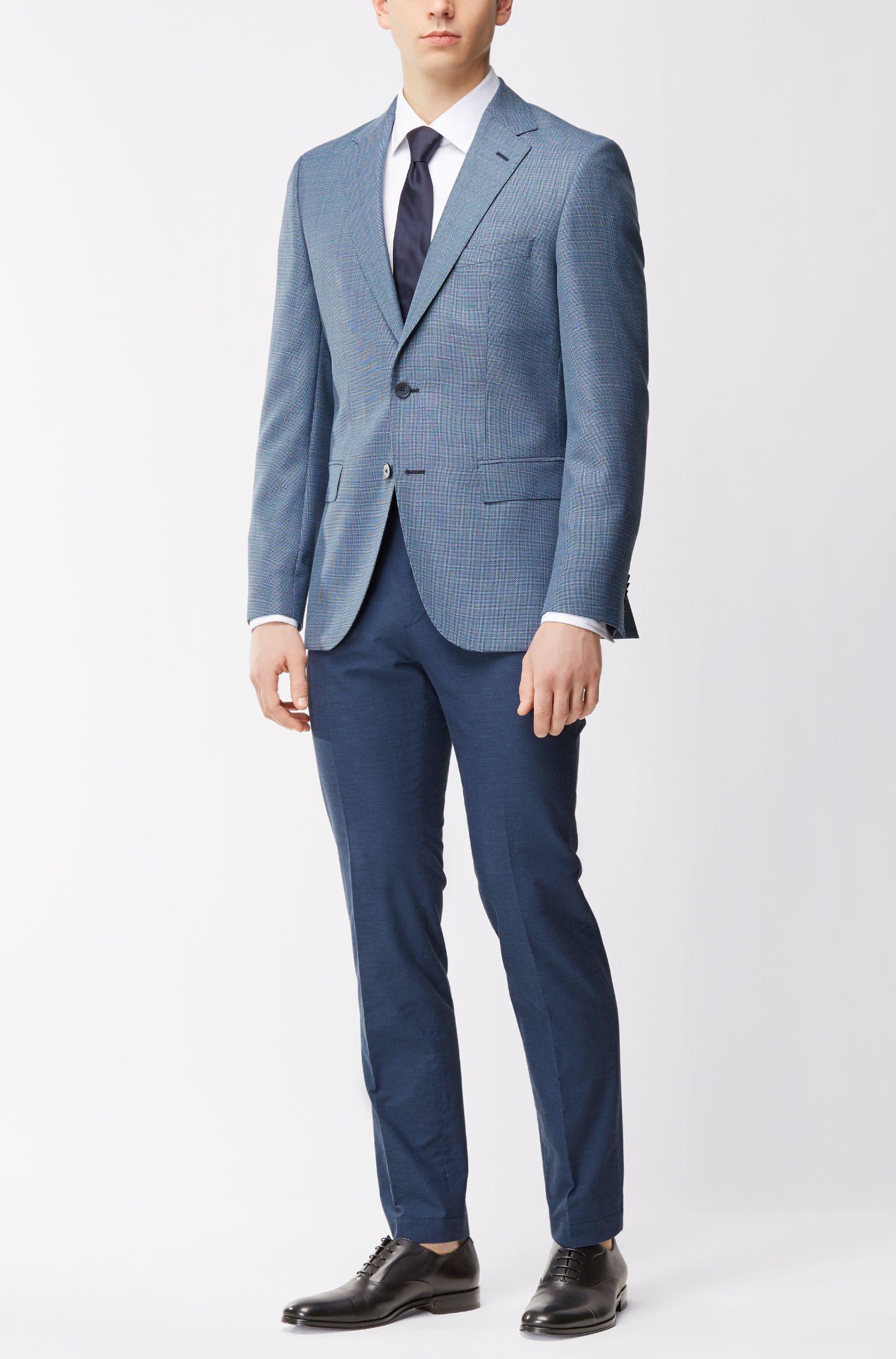 Slim-Fit Hose aus reiner Baumwolle