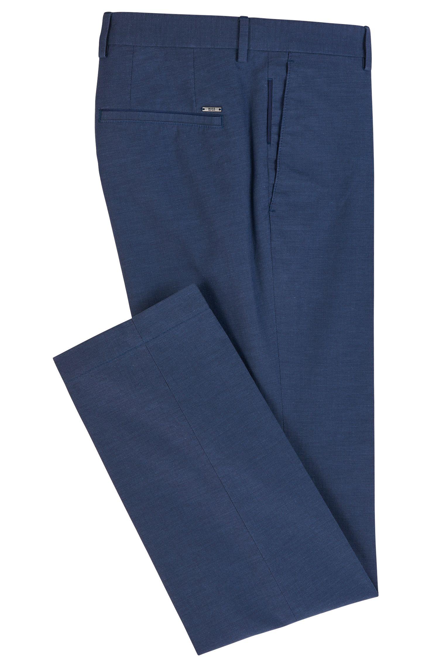 Pantalon Slim Fit en pur coton