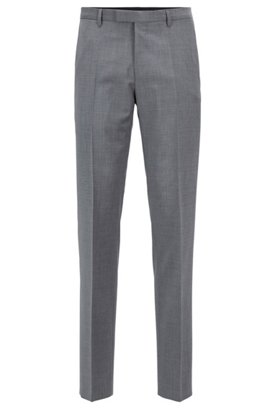 Slim-fit Tailored trousers in pure new wool: T-Court5 BOSS Shop Your Own Clearance Sale Online Cheap Sale Lowest Price In China For Sale TvVnmoC