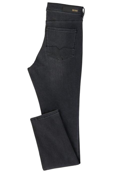 Maigre Ajustement Recadrée Jeans En Denim Patron De Puissance-stretch XJU6i8t