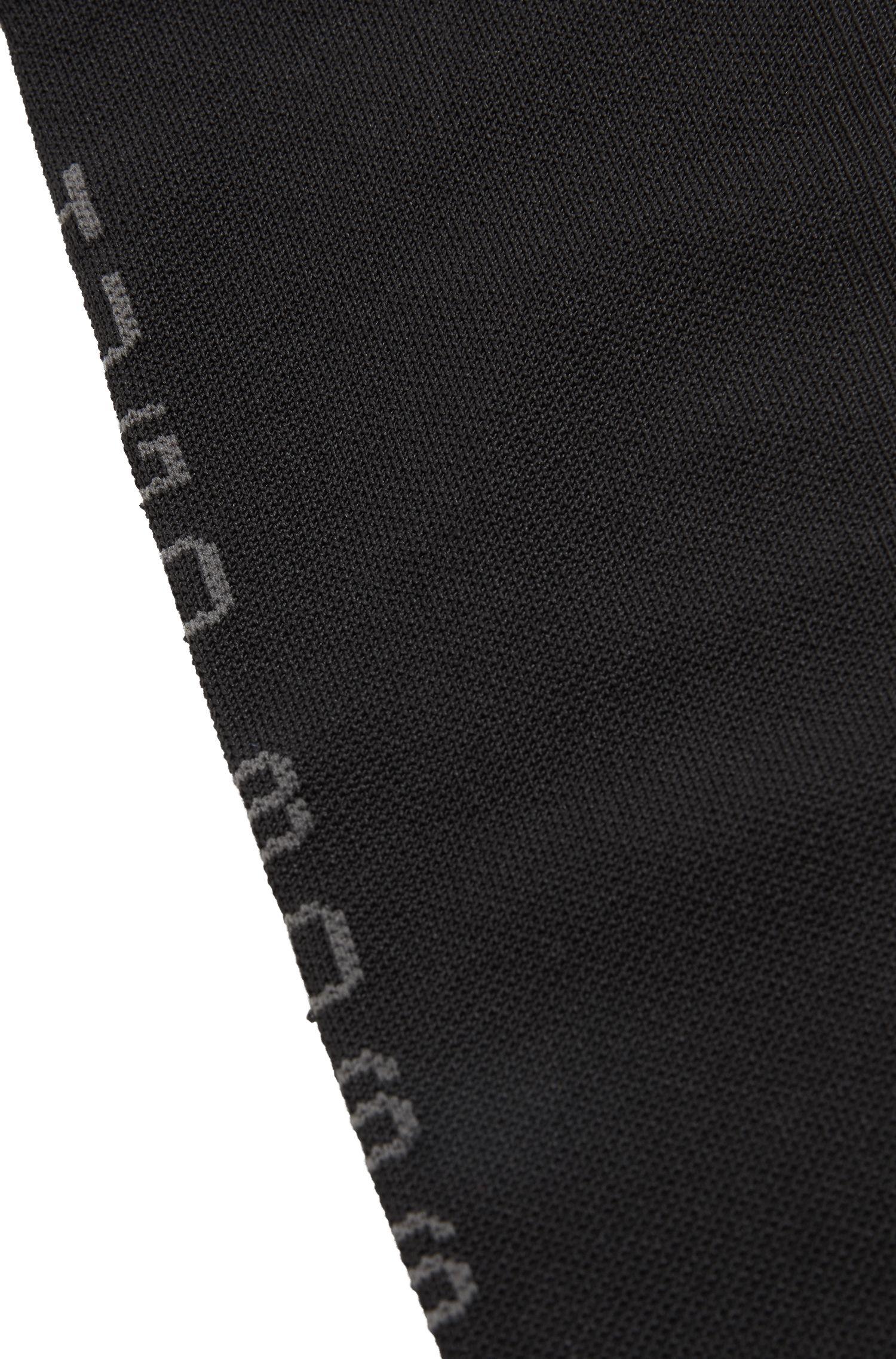 Calcetines hasta la rodilla en tejido COOLMAX®, Negro