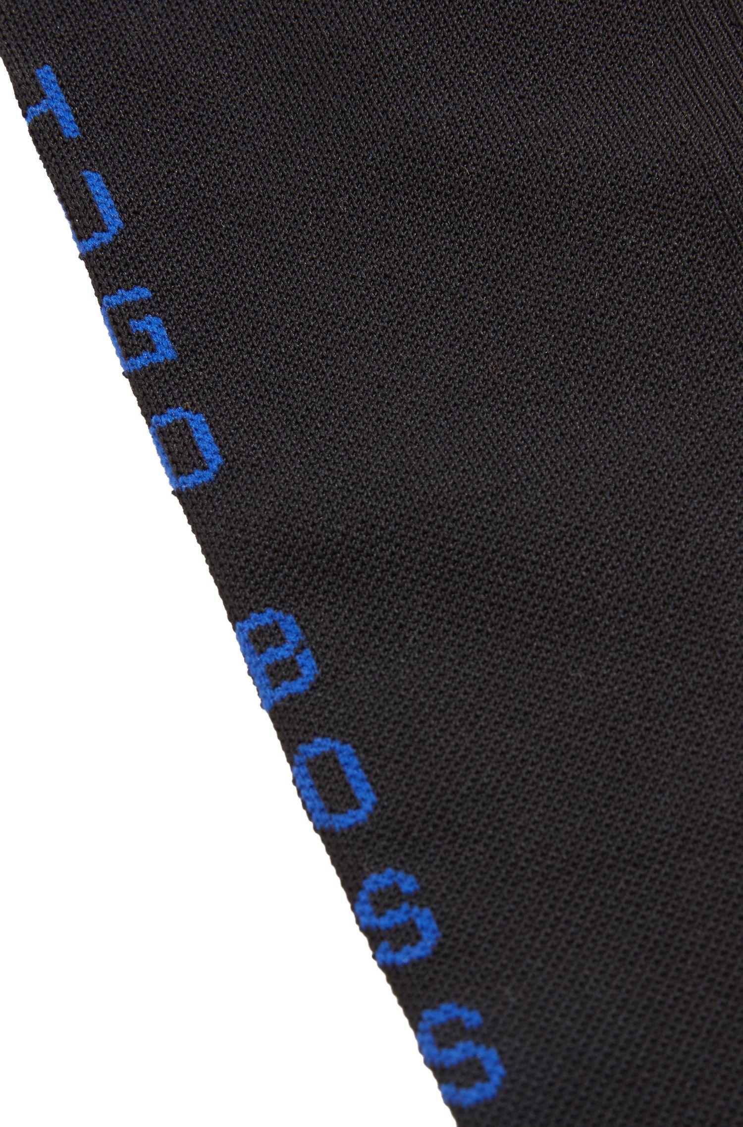 Knee-high socks in COOLMAX® fabric, Black