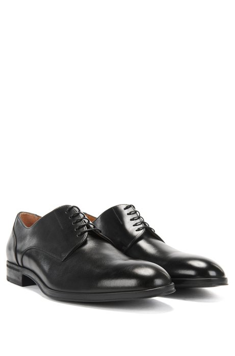 Cheap Order Italian-made Derby shoes in smooth calf leather BOSS Outlet Store Cheap Sale Get To Buy 2x4X5UH