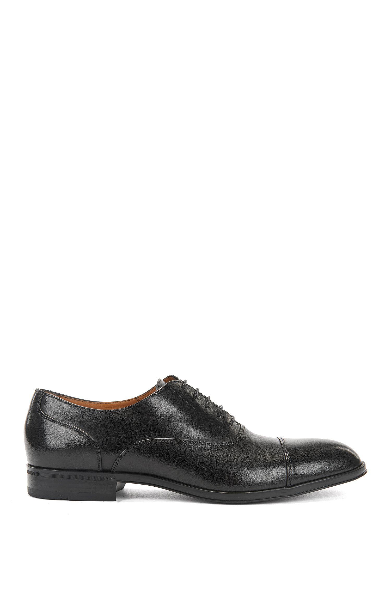 Italienische Oxford-Schuhe aus Glattleder