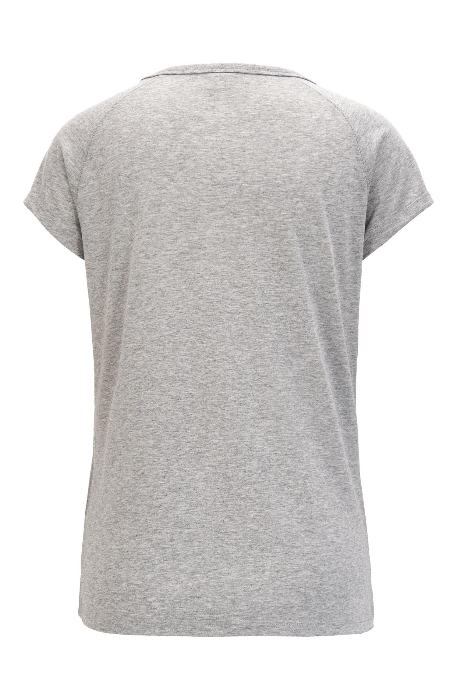 T-Shirt mit Raglanärmeln und Slogan-Detail