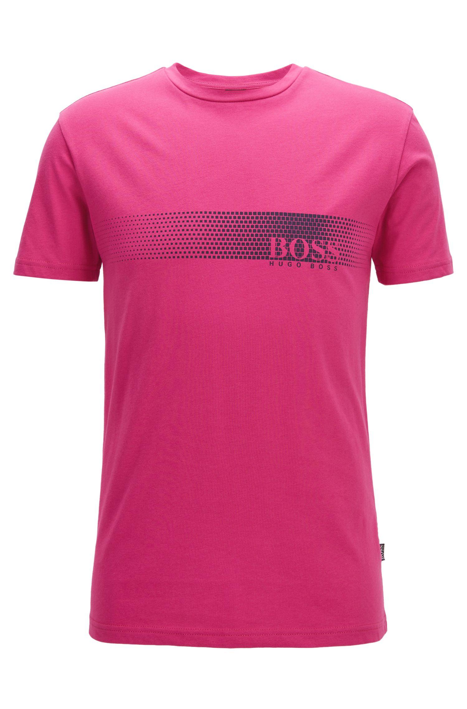 Camiseta con logo en algodón con protección solar