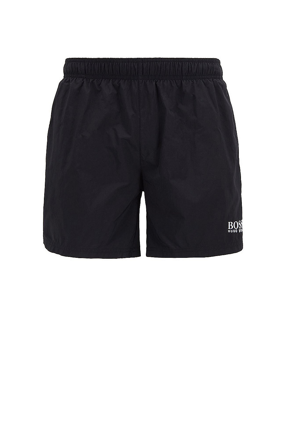 aef7699c0 BOSS - Quick-drying swim shorts with embroidered logo
