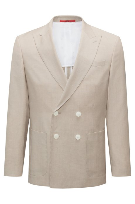 Finishline For Sale Boss by Hugo Boss Wool-Blend Structured Blazer Cheapest For Sale Discounts Sale Online SgZqT