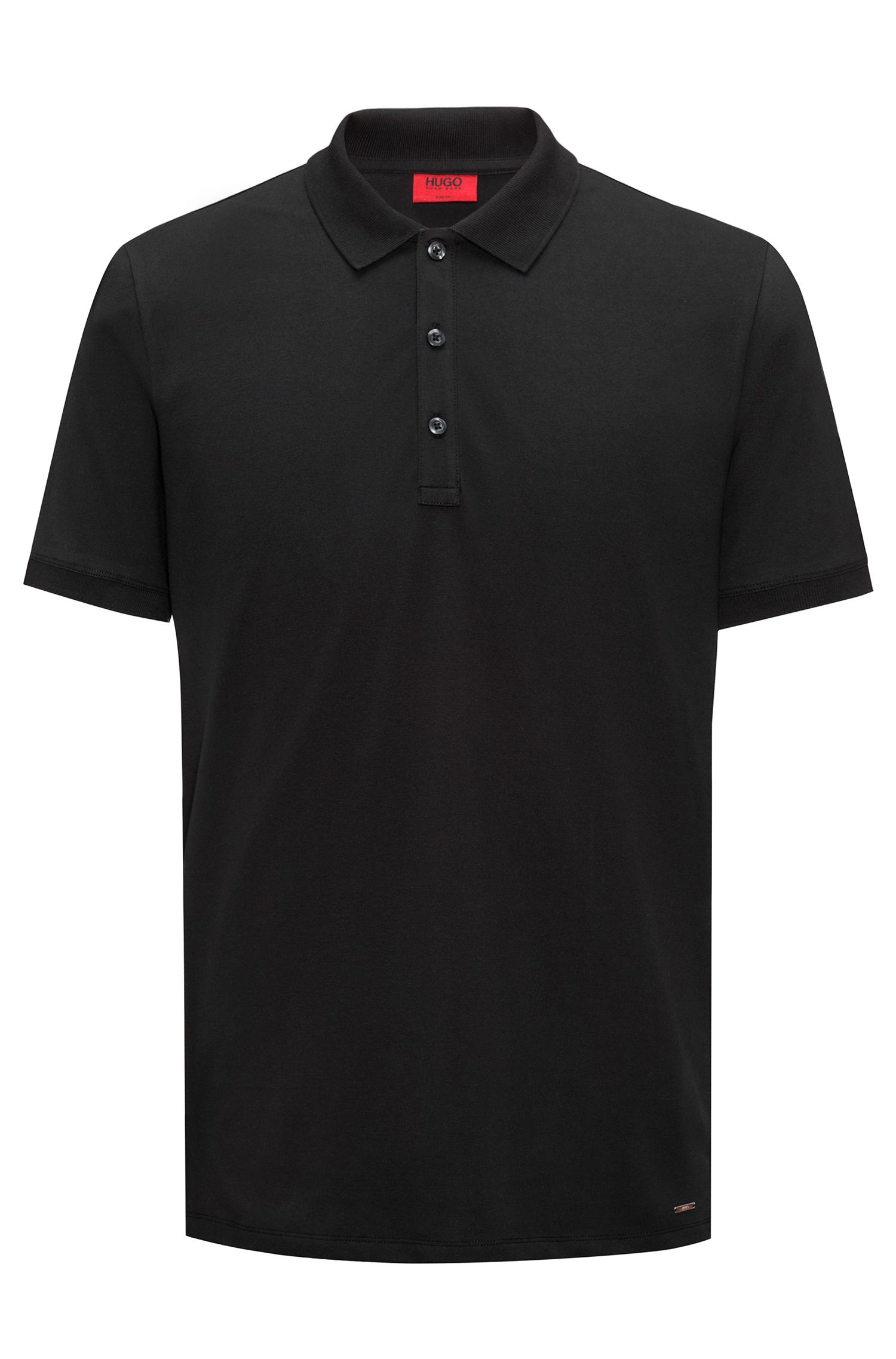 Slim-Fit Poloshirt aus Stretch-Baumwolle