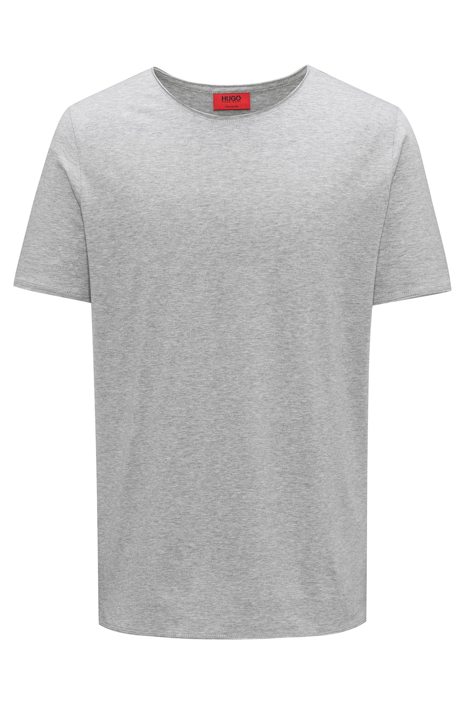 T-shirt Regular Fit en coton Pima