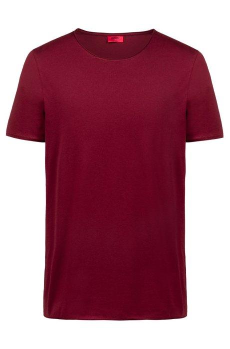 T-shirt RegularFit en coton Pima, Rouge sombre