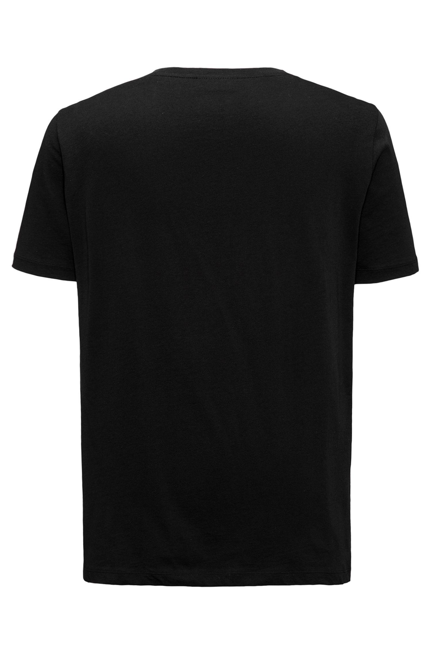 Oversized logo-T-shirt van katoenen jersey