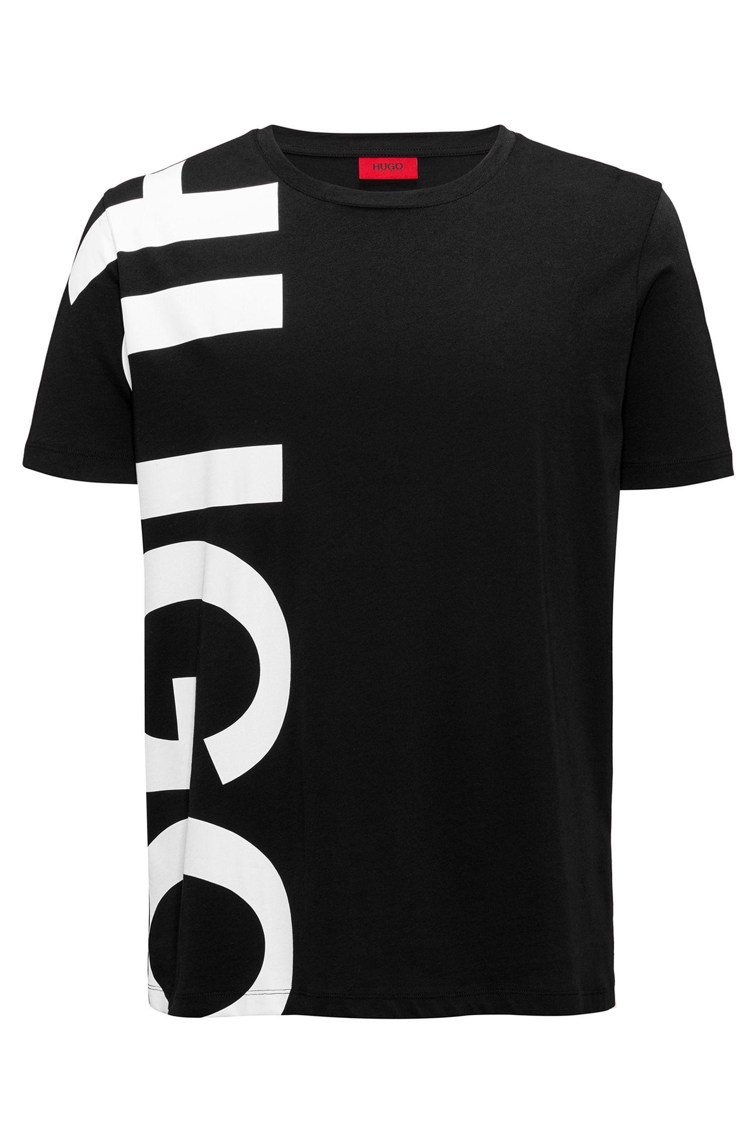 Oversized T-Shirt aus Baumwoll-Jersey mit großem Logo-Print
