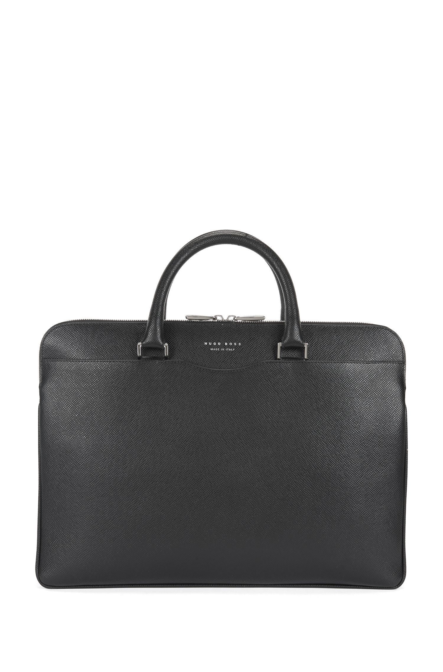 Signature Collection document case in embossed palmellato leather