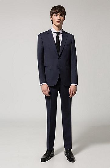相异纹理双面皮革腰带,  001_黑色