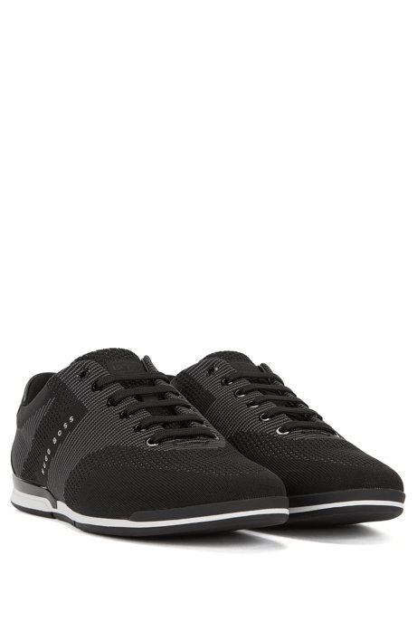 Low-top trainers with seamless knitted uppers BOSS Vd40GwlFI