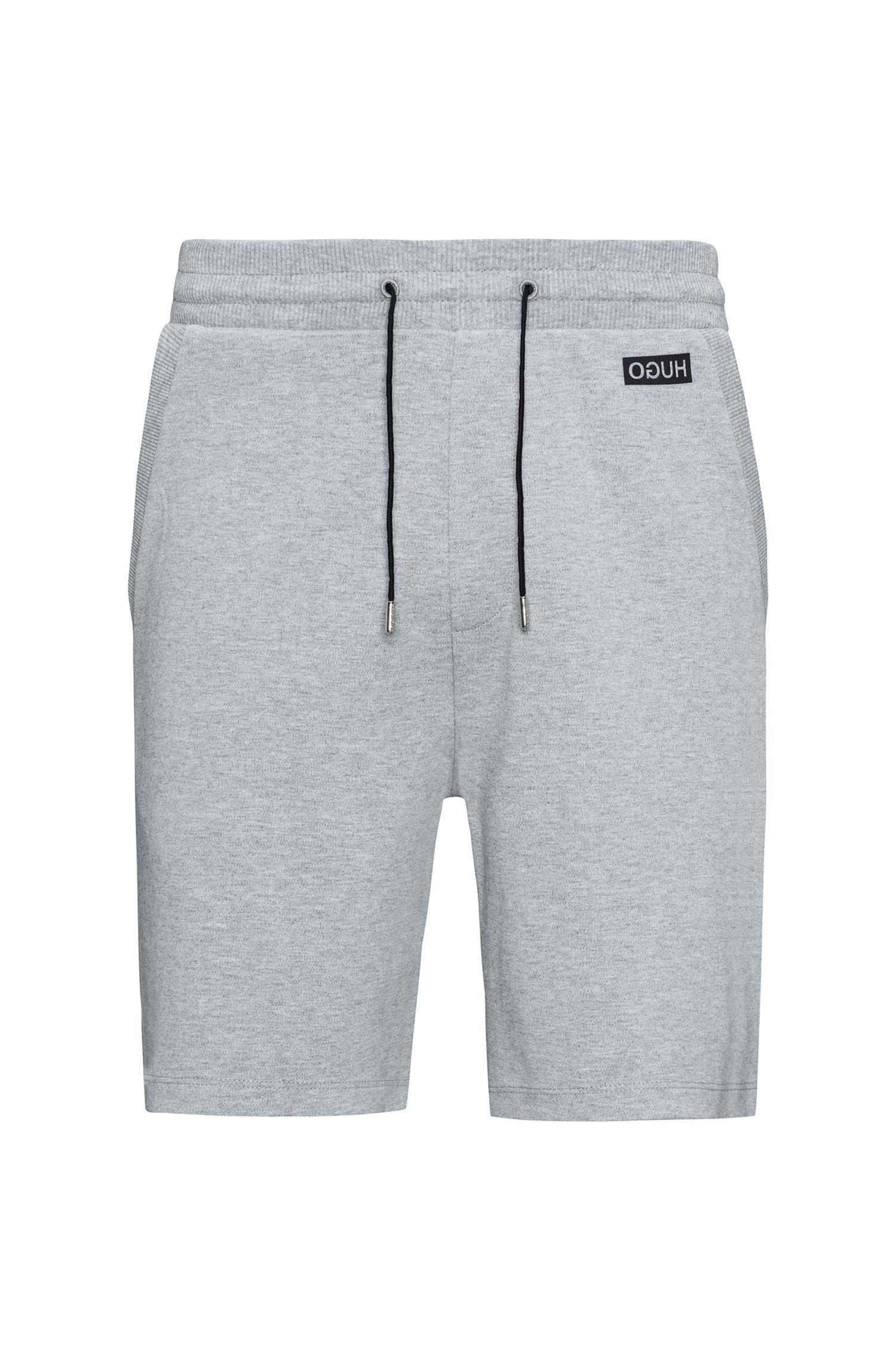 Shorts con cordón confeccionados en algodón interlock