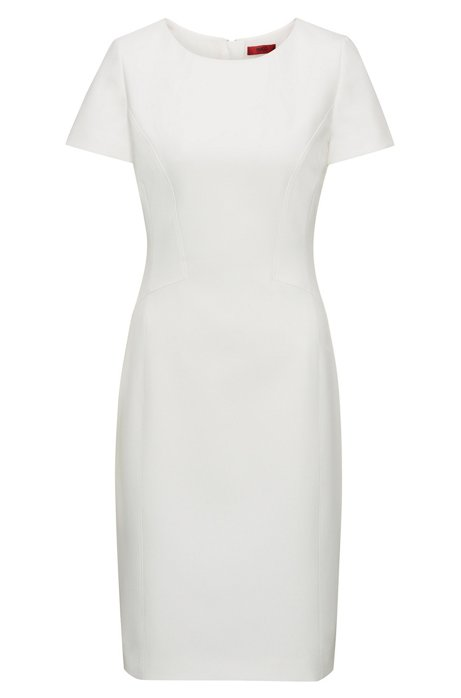 Fitted dress with feminine seaming HUGO BOSS 2N6gO3