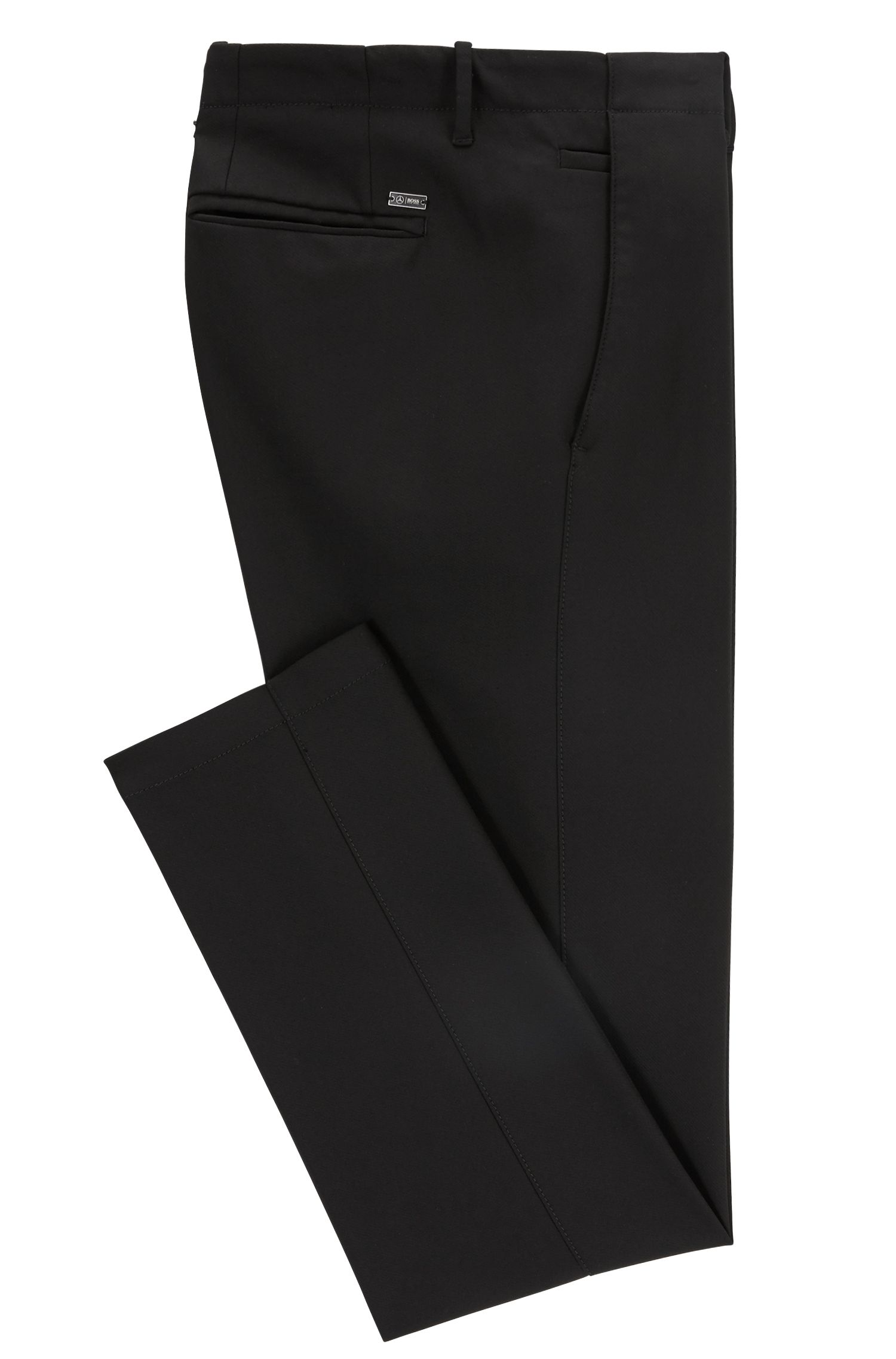 Chino Slim Fit en sergé technique stretch