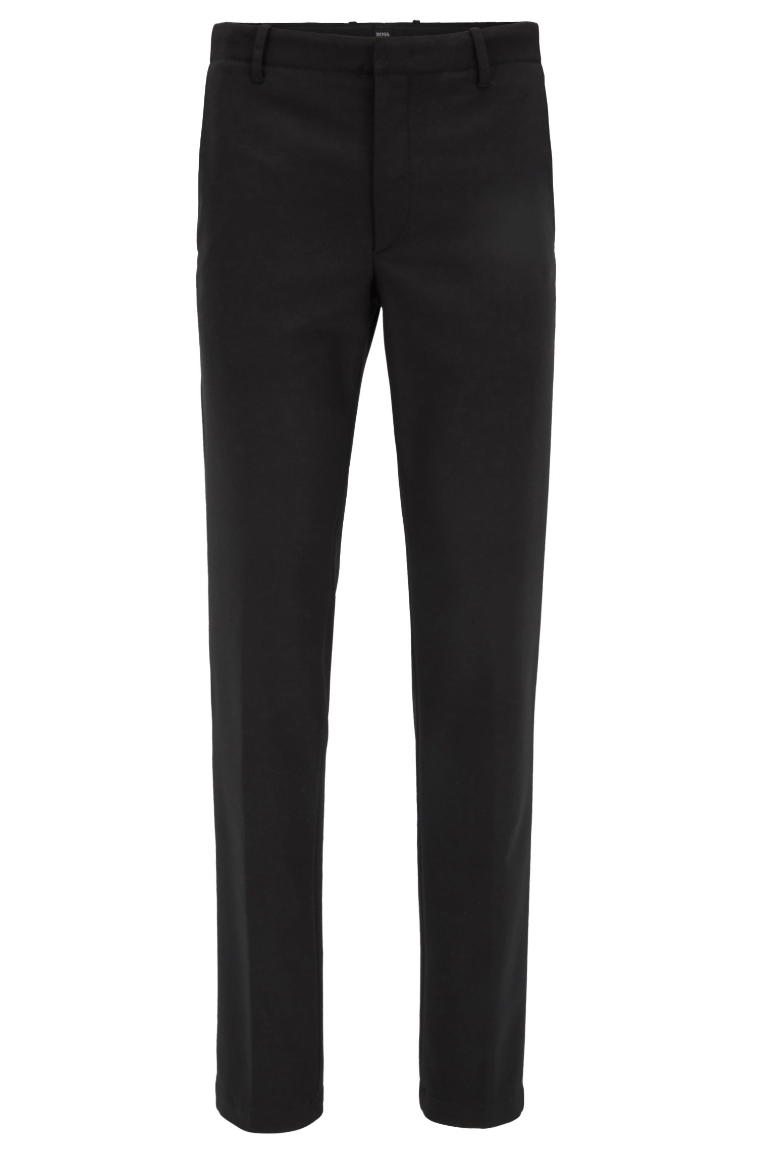 Slim-fit chinos in technical stretch twill