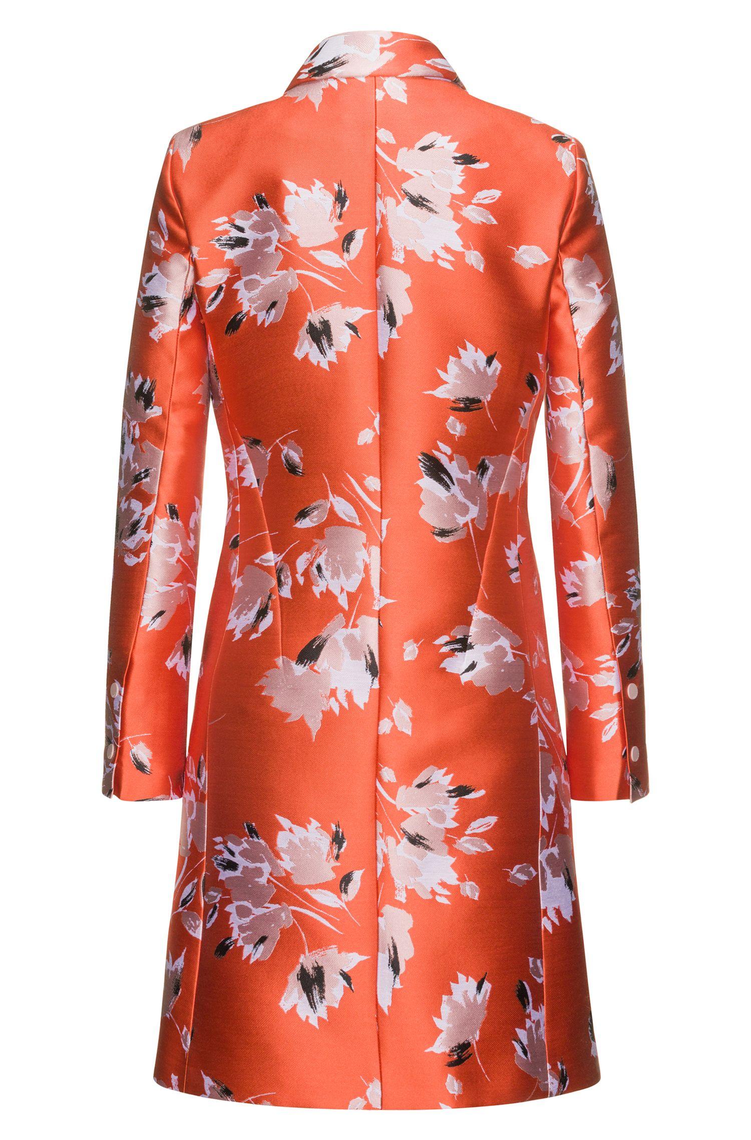 Mantel aus Jacquard mit abstraktem Blumen-Print