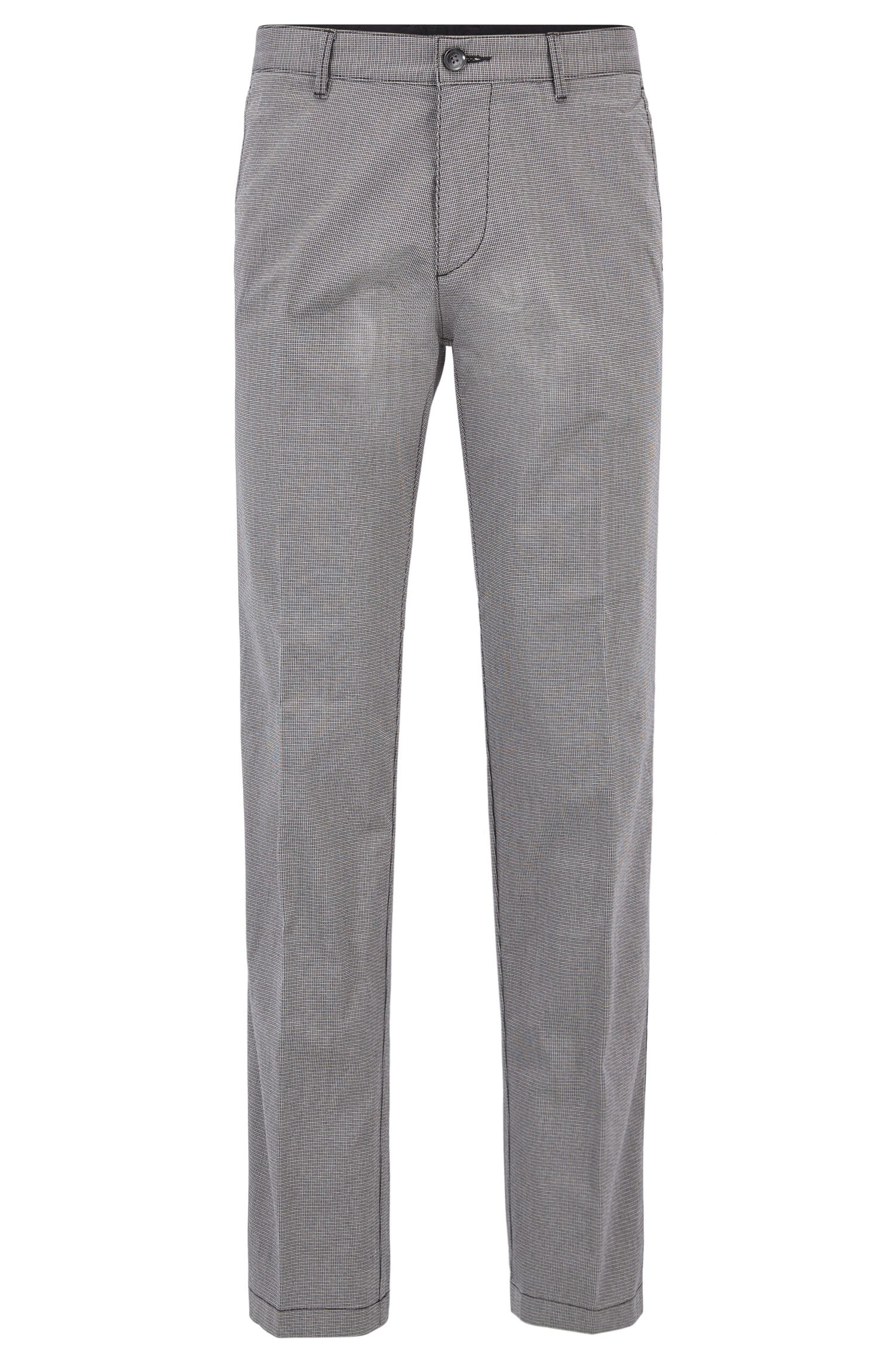 Regular-fit chinos in stretch-cotton twill