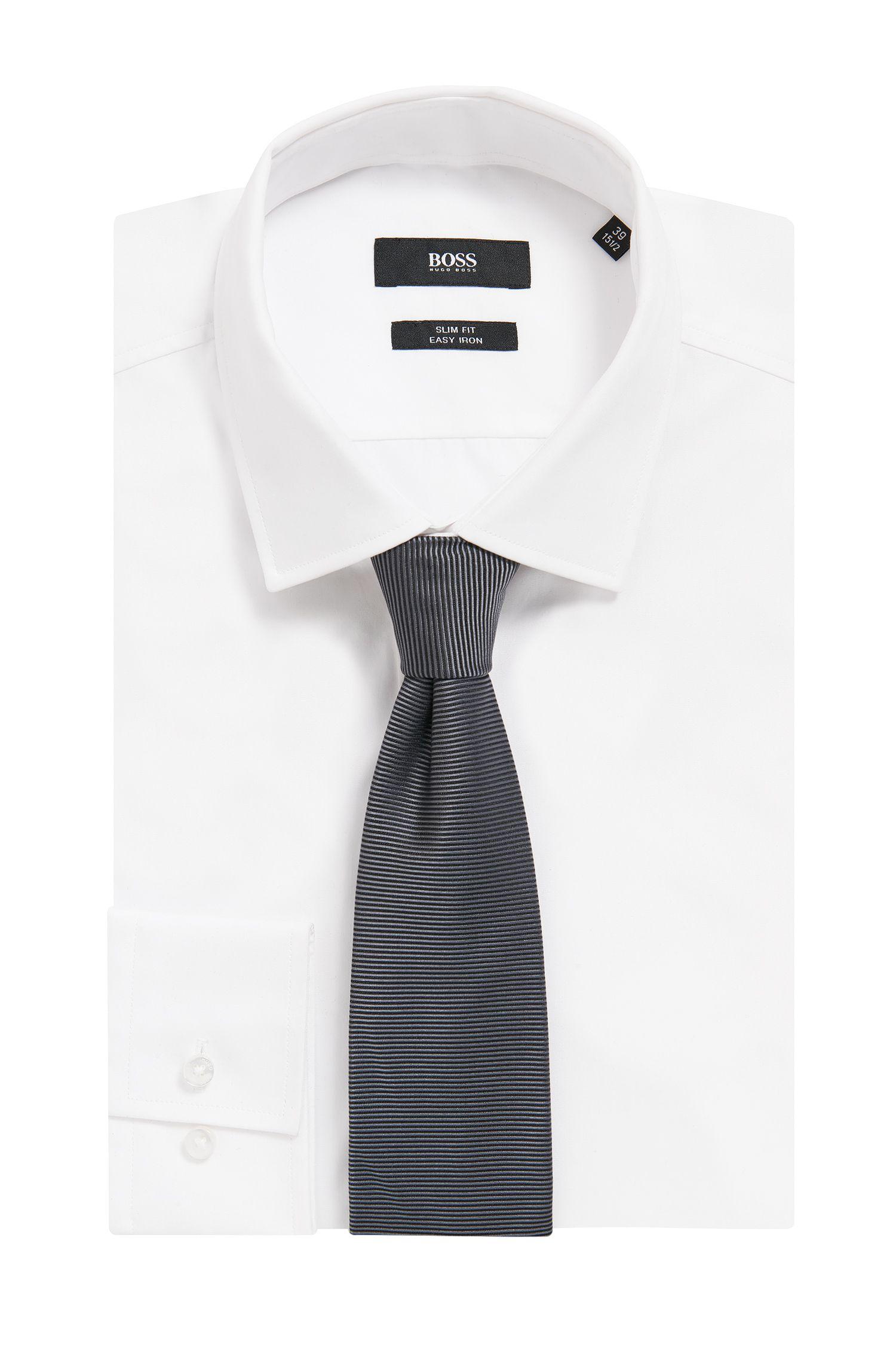 Cravate en jacquard de soie italien