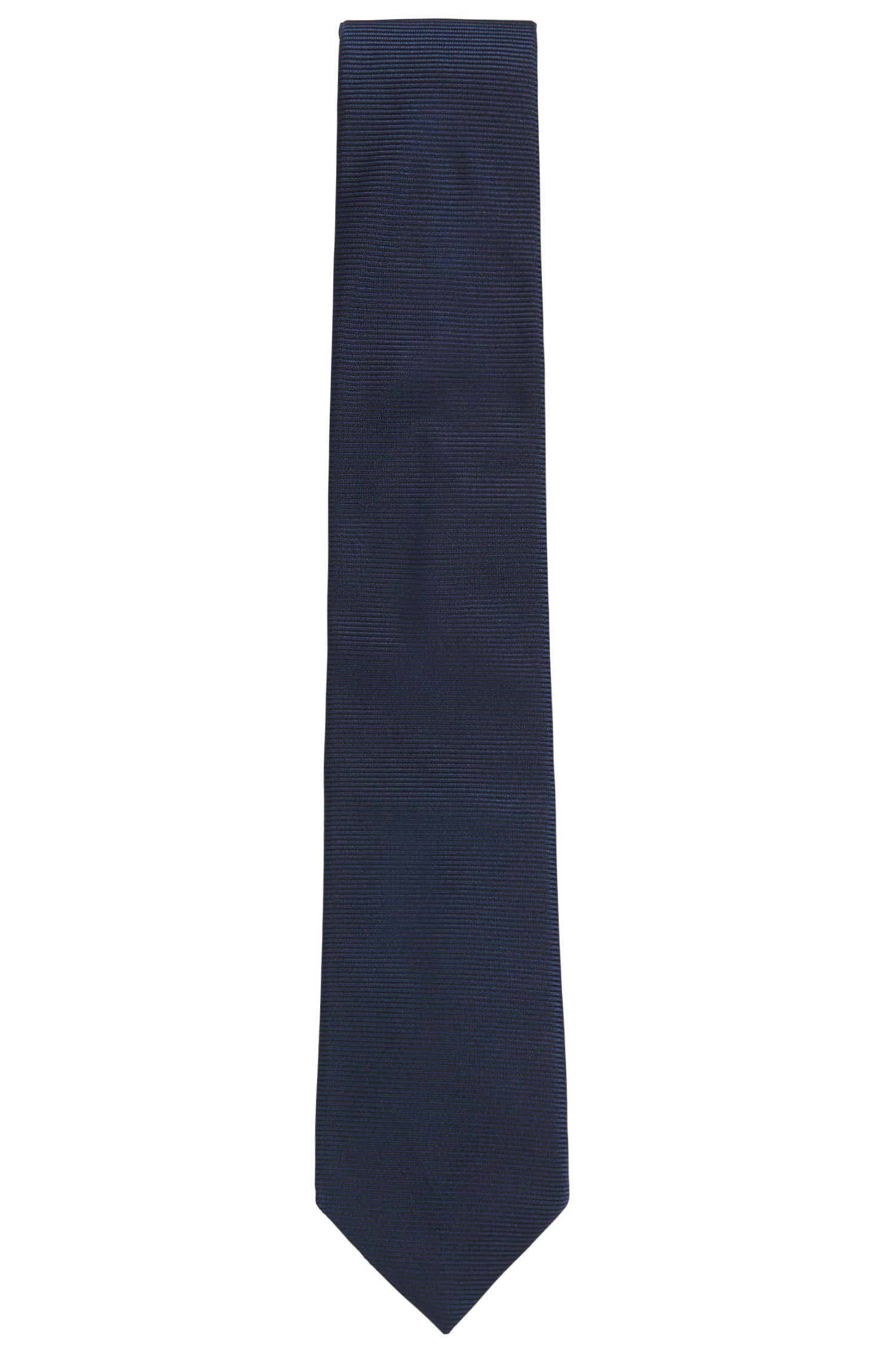 Cravatta in jacquard di seta realizzata in Italia