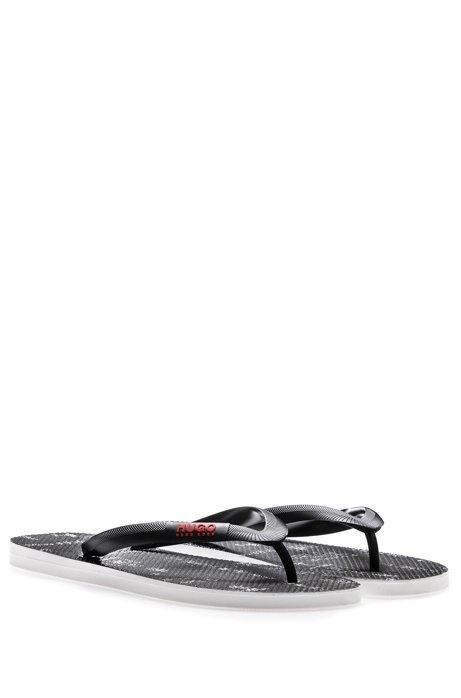 Toe-post flip-flops with seasonal artwork HUGO BOSS M59Lfd64