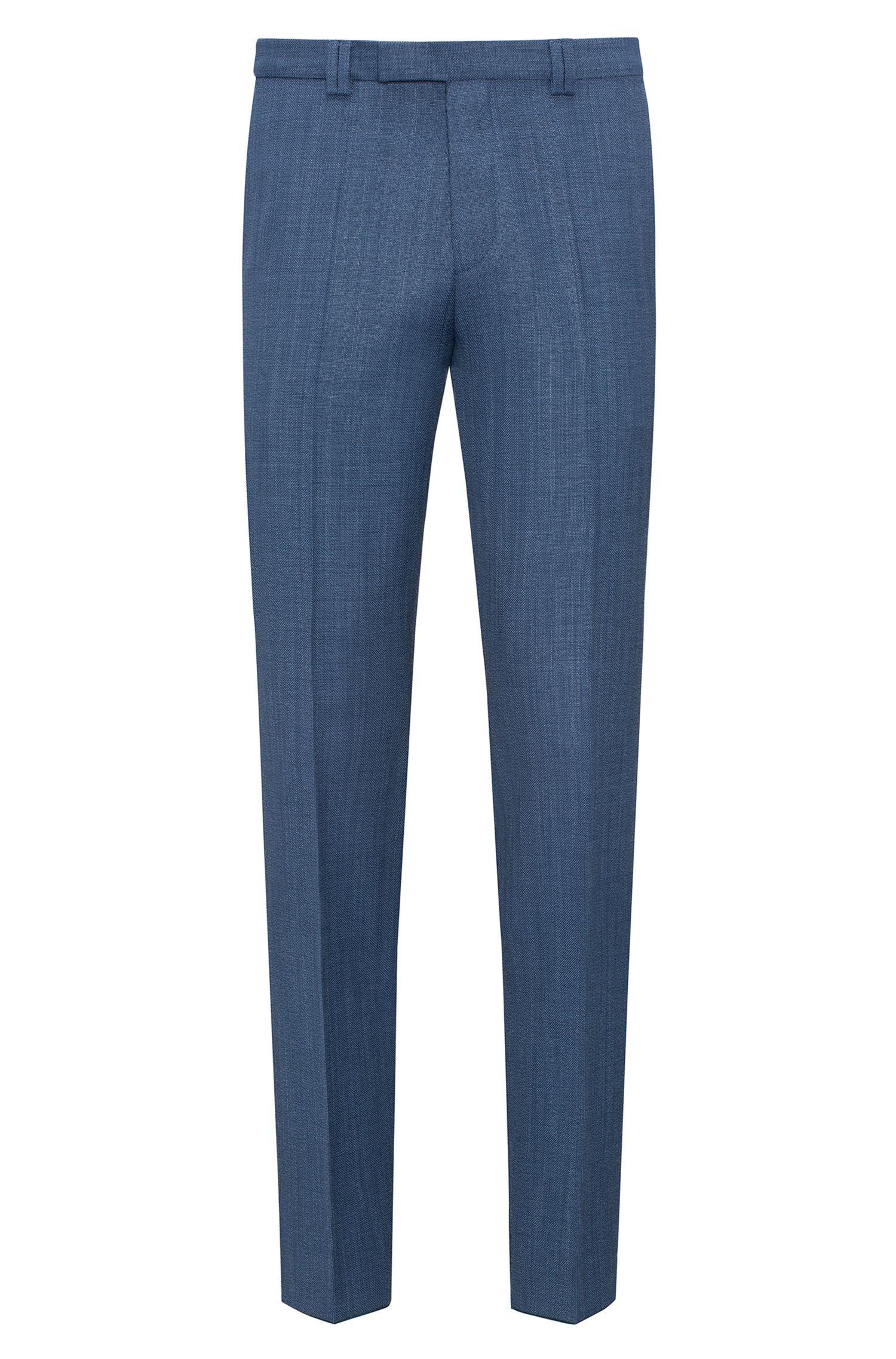 Extra Slim-Fit Hose aus Schurwolle mit Panamabindung