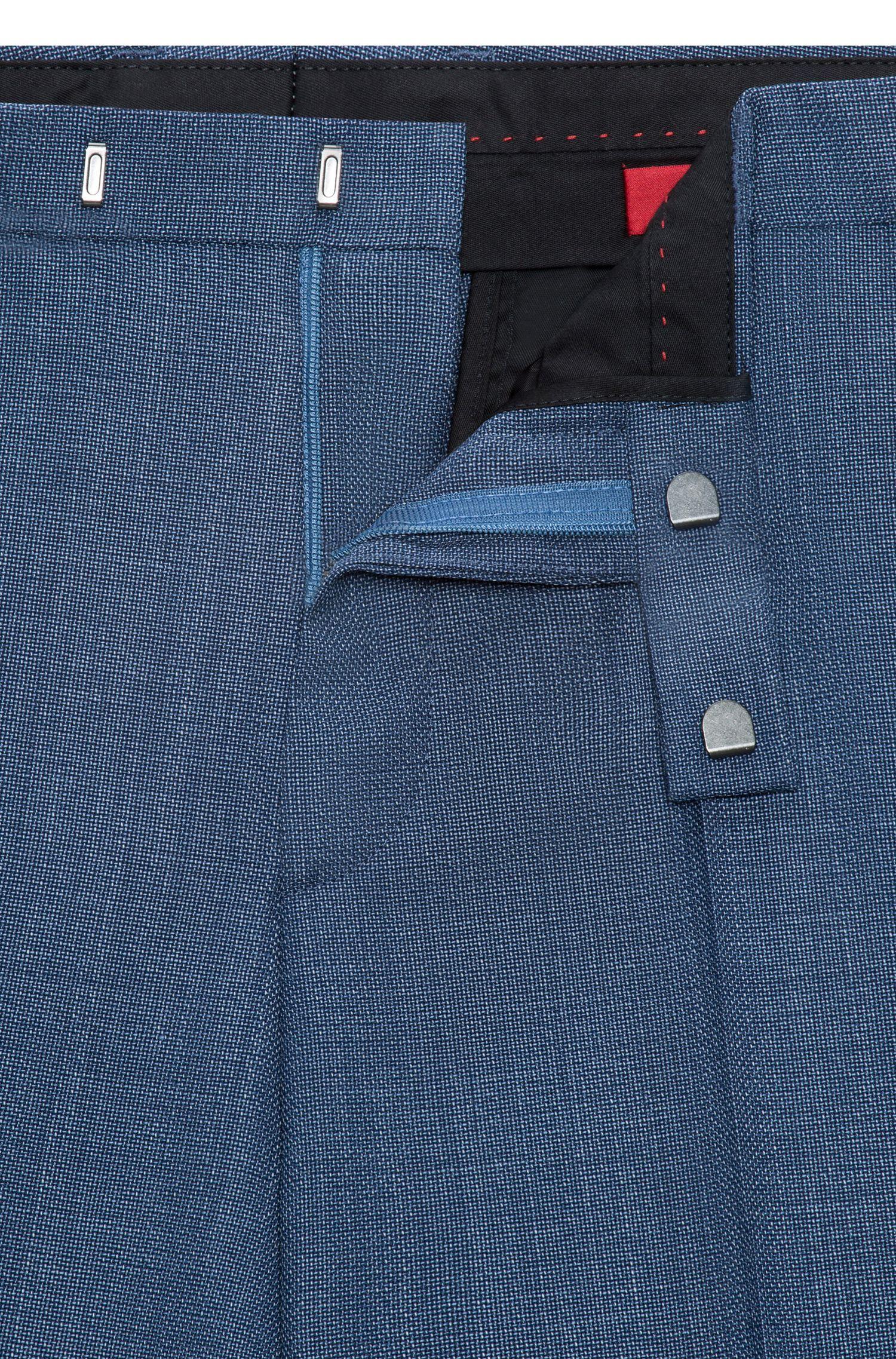 Pantalon Extra Slim Fit en natté de laine